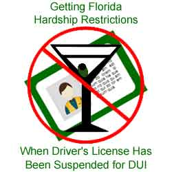 Getting Hardship Restrictions On Florida Drivers License